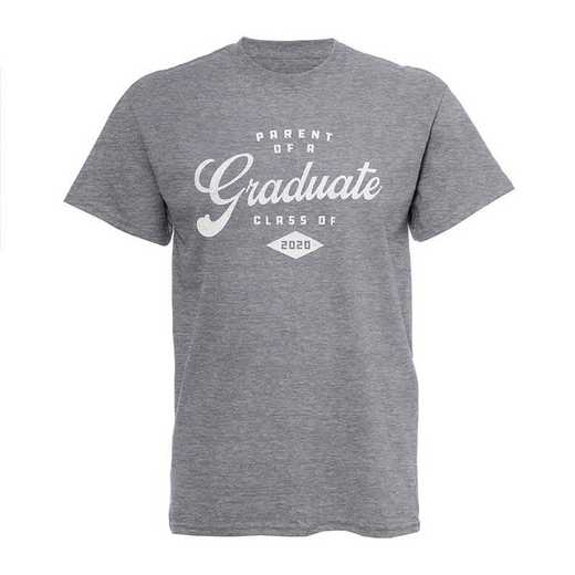 Parent of Grad 2020 T-Shirt-Grey